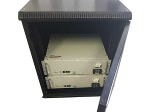 Battery Cabinet 12U for Narada or PylonTech Battery storage
