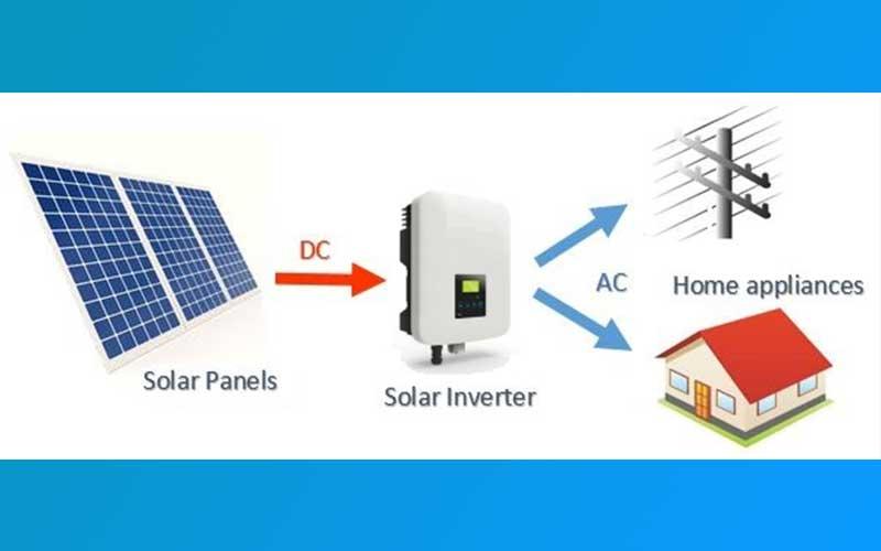 Converting DC To AC Solar Inverter