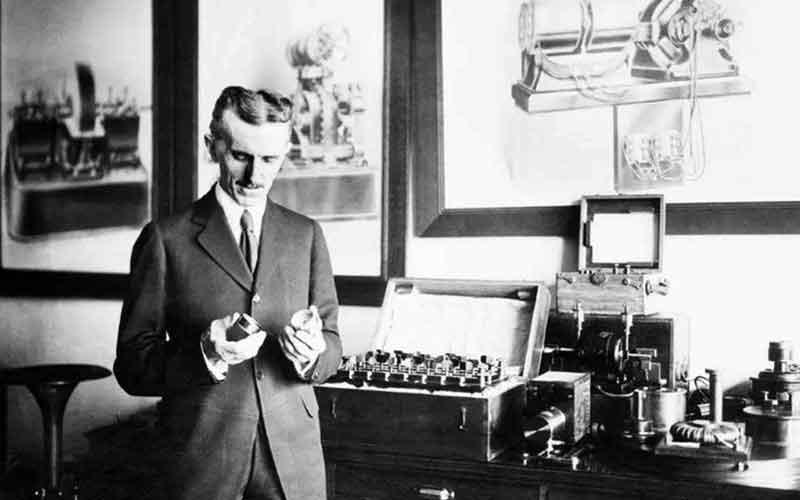 History Of Inverters Nicola Tesla AC Motor