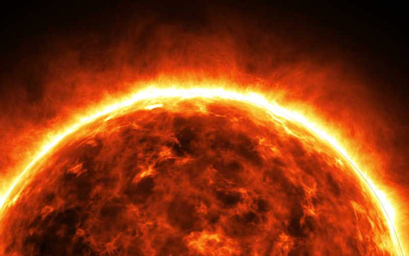 How does the sun generate solar energy