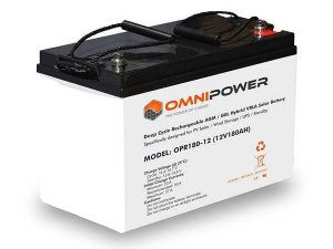 OmniPower 180Ah 12V Sealed Battery
