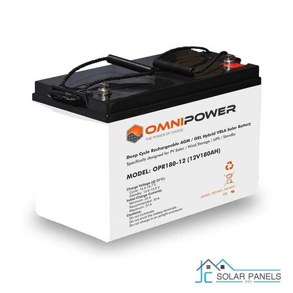 OmniPower 180Ah 12V Sealed Battery