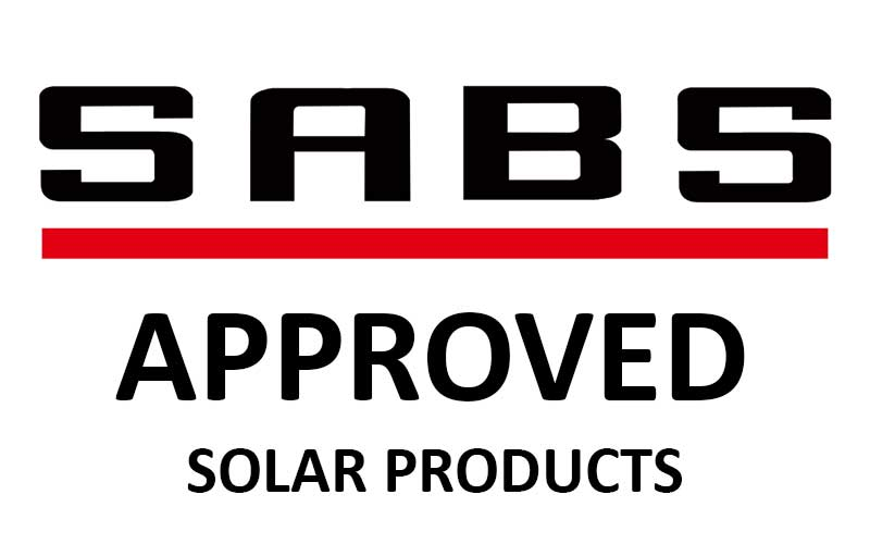 SABS Approved Solar Products