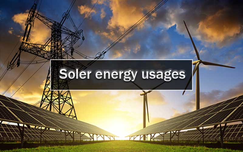 Solar Energy Usages