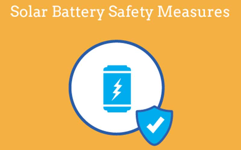Solar Lithium Ion Battery Safety