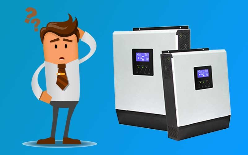 What Are Solar Inverters Man Questioning