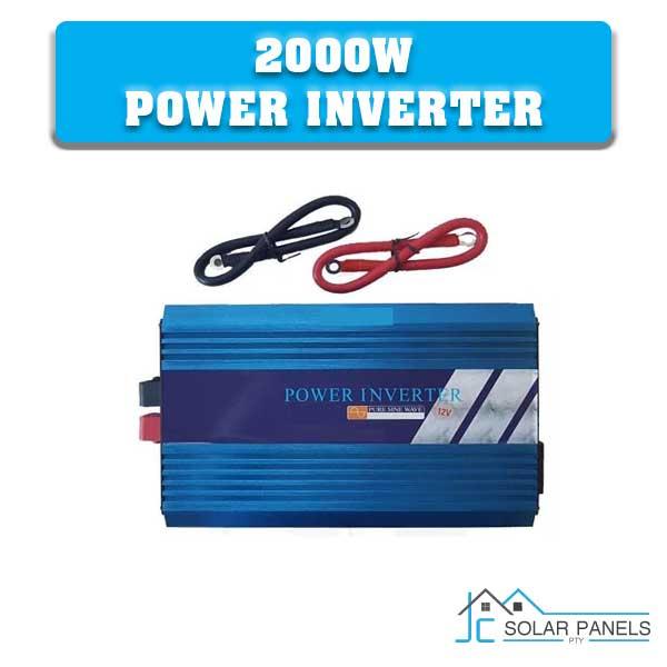 2000W Pure Sine Wave Power Inverter