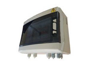 AC Protection Box For <5kVA Inverters 25A Out Type II SPD