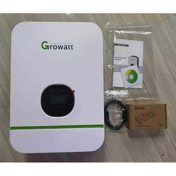 Growatt SPF 3kW Solar Inverter With Included Accessories