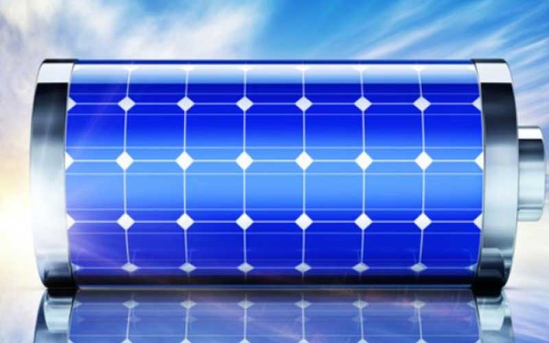 Solar Battery Volume Of Electricity Storage