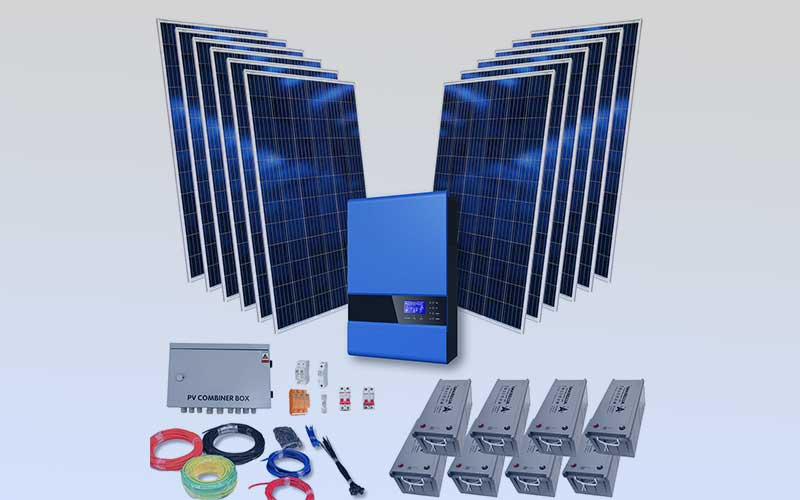 Solar Kit Packages For Solar Off Grid And Battery Backup