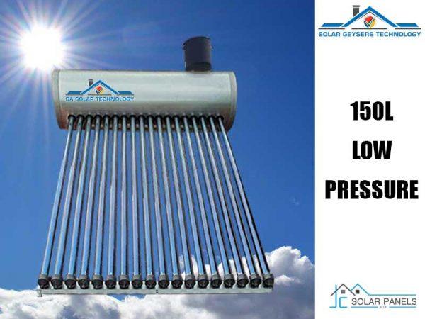 150 Liter Low-Pressure Solar Geyser Product