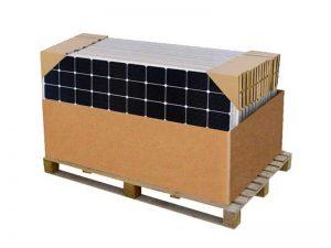 340W solar panel pallet