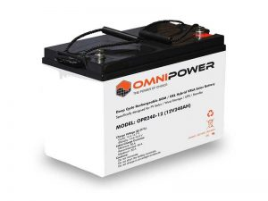 OmniPower 240Ah 12V Sealed Battery
