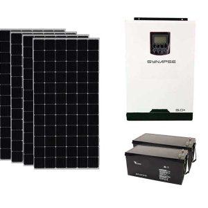 3KW Lead-Acid Synapse Solar Kit