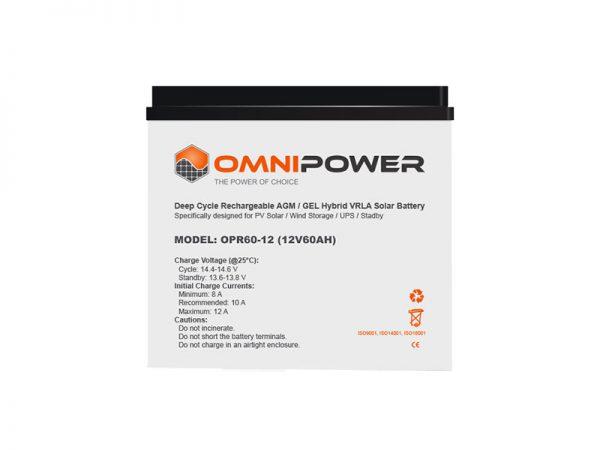 OmniPower 120Ah 12V Sealed Battery