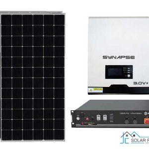 3Kw Synapse Economy Solar Off-Grid Kit