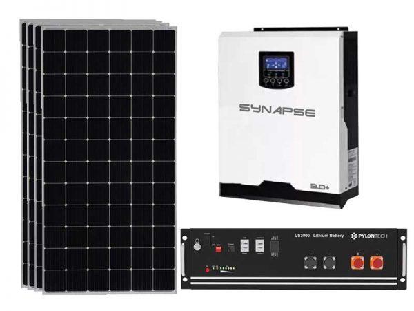3Kw Synapse Plus Solar Off-Grid Kit
