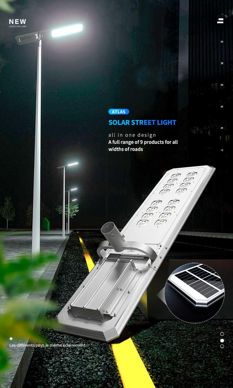 3000 lumen solar street light Intro