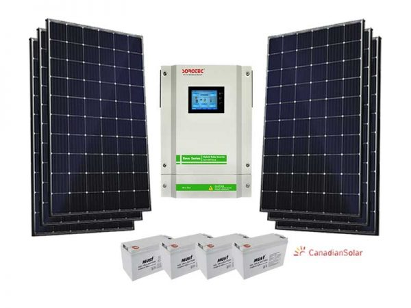 5.5kw Gel battery Solar Kit