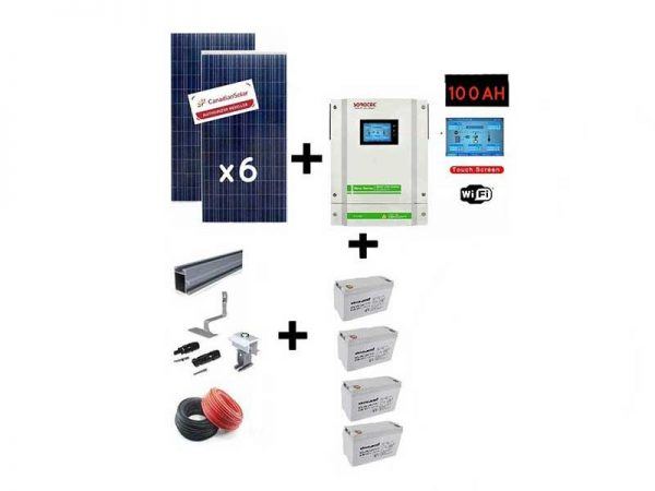 5.5kw Gel battery Solar Conversion Kit