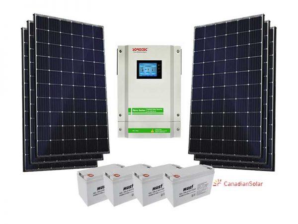 5.5kw Sorotec Standard Solar Conversion Kit