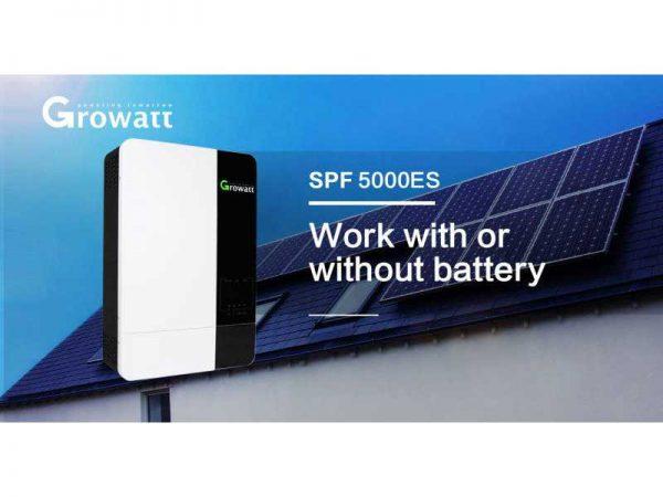 5Kw Growatt High Voltage Off Grid Solar Inverter SPF 5000ES
