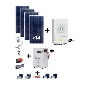 8kw Deye 5kWh solar Kit