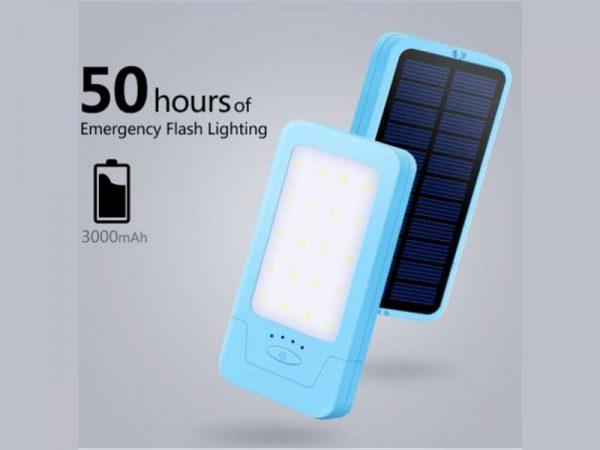 SL 320 20 LED Solar Flashlight