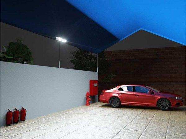 SWL 30 Solar Spot Light Installation Driveway