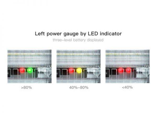 SWL 30 Solar Spot Light Power Guage