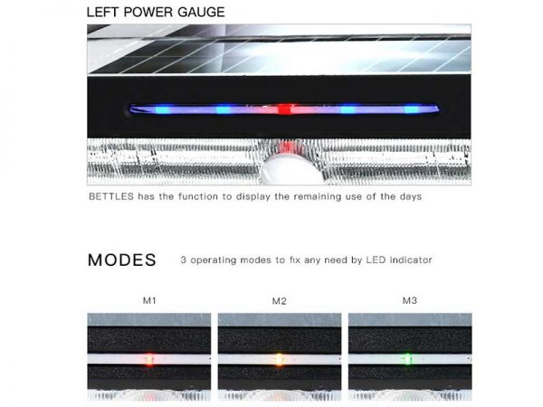 Solar Motion Wall Light Modes