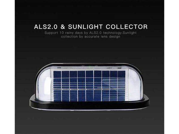 Solar Motion Wall Light Solar Panel