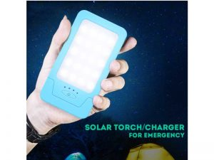 SL-320 20 LED solar powered flashlight