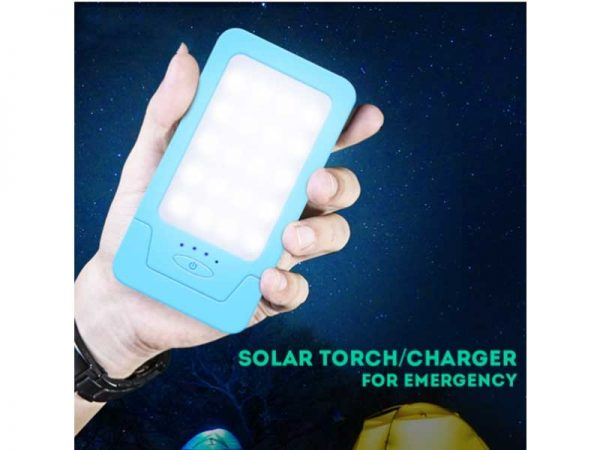 Solar Torch Charger For Camping