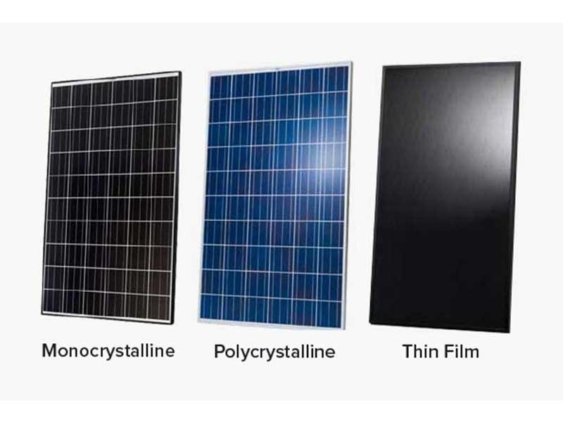 Types Of Solar Panels In Johannesburg