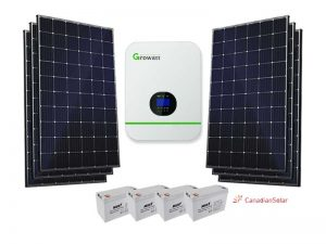 5KW Growatt Economical Solar Kit