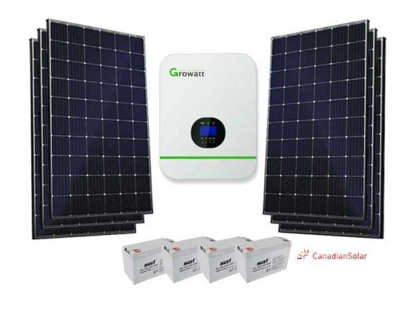5KW Growatt Economical Solar Conversion Kit