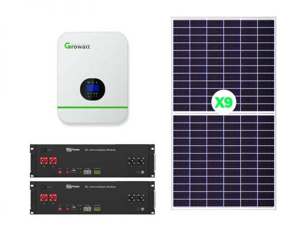 5KW Growatt Lithium-ion Solar Conversion Kit