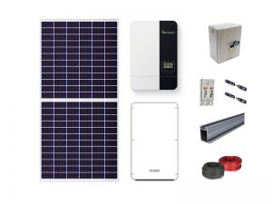 5KW Growatt Lithium-ion Solar Kit