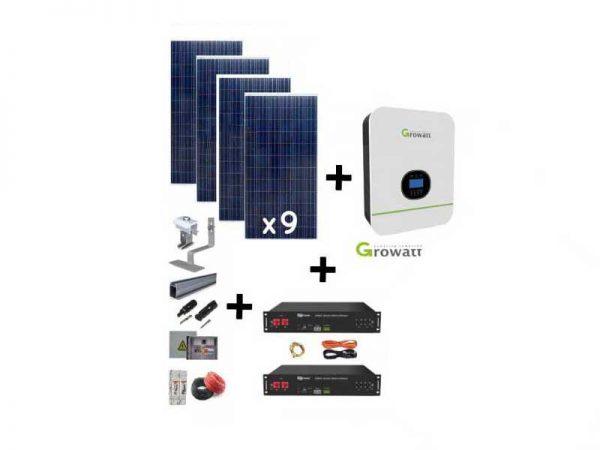 5KW Growatt Lithium-ion Solar Kit