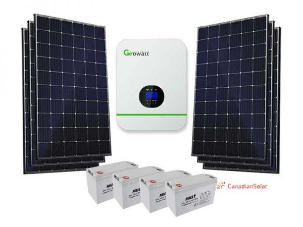 5KW Growatt Standard Solar Conversion Kit