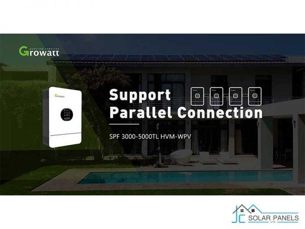 Growatt SPF 5000TL Solar Inverter Can Parallel