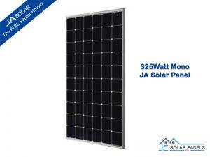 JA Solar 325W Mono solar panel