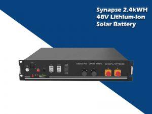 Synapse 2.4kWH 48V Li-ion Battery