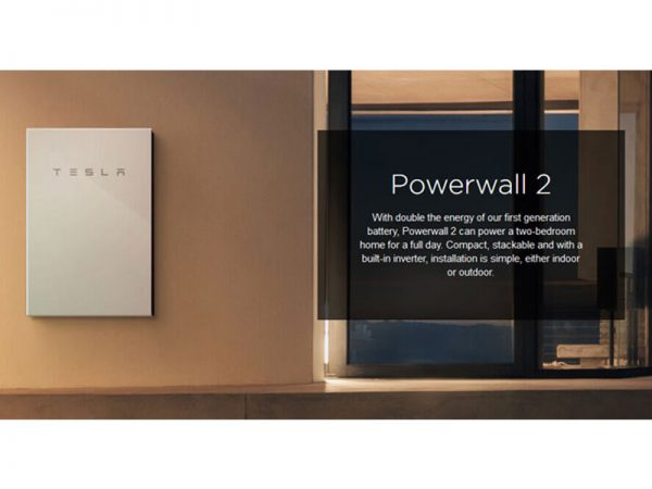 Tesla PowerWall 2 AC Description