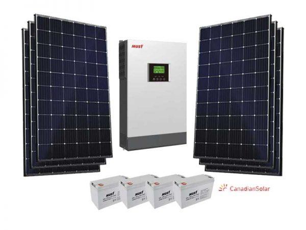 5kw Must Economical Solar Conversion Kit
