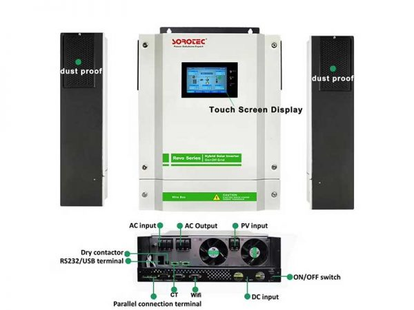 Sorotec REVO-II Hybrid Solar Inverter Features