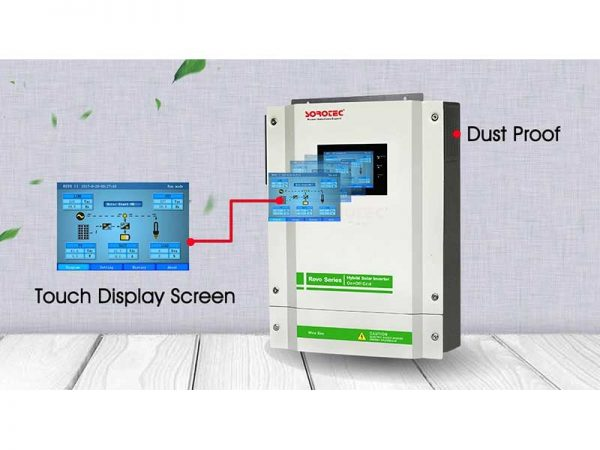 Sorotec REVO-II Hybrid Solar Inverter Touch Screen Dust Proof