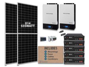 10kw Synapse 17kwh solar kit
